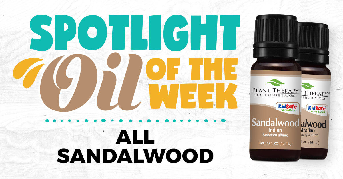 Sandalwood Indian and Australian: Essential Oil Spotlight of the Week