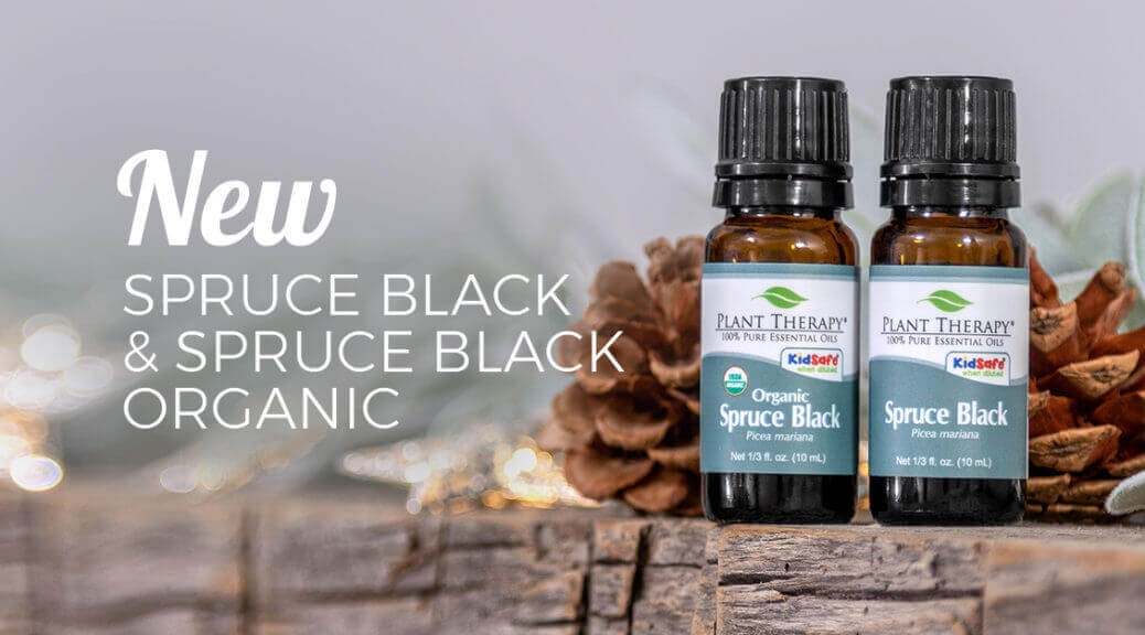 New Spruce Black Essential Oils are at Plant Therapy