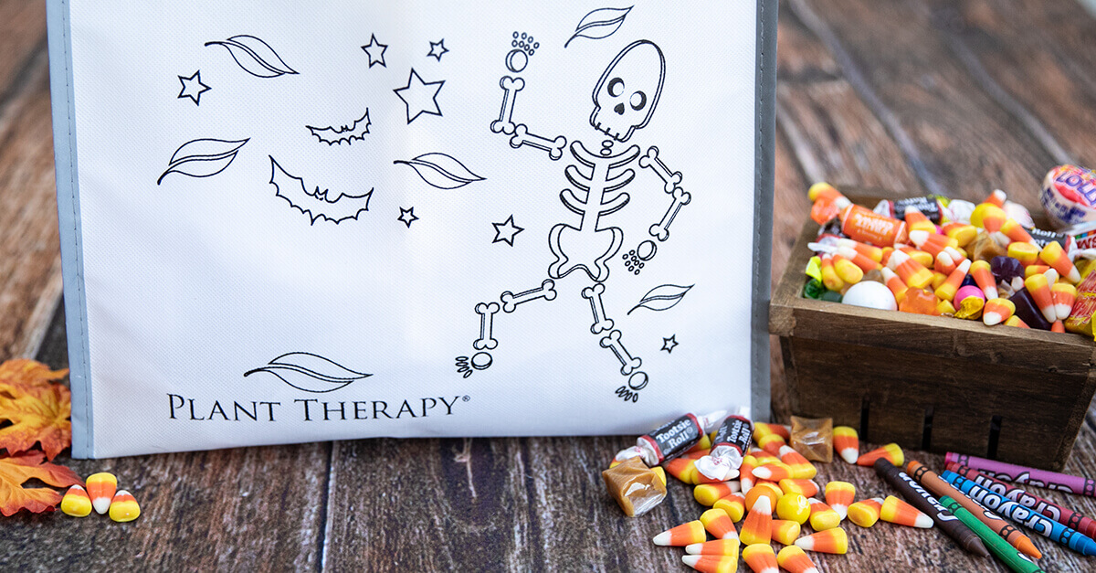 halloween trick or treat bag candy