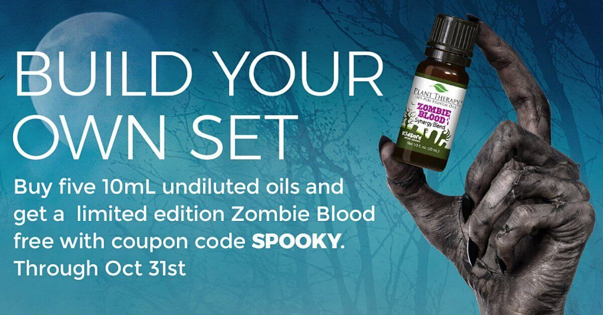 And the Mystery Essential Oil Is...Zombie Blood