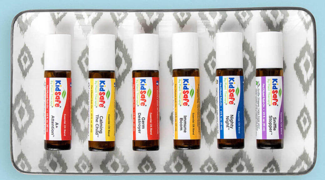 Kidsafe essential oil roll-on plant therapy essential oils aromatherapy