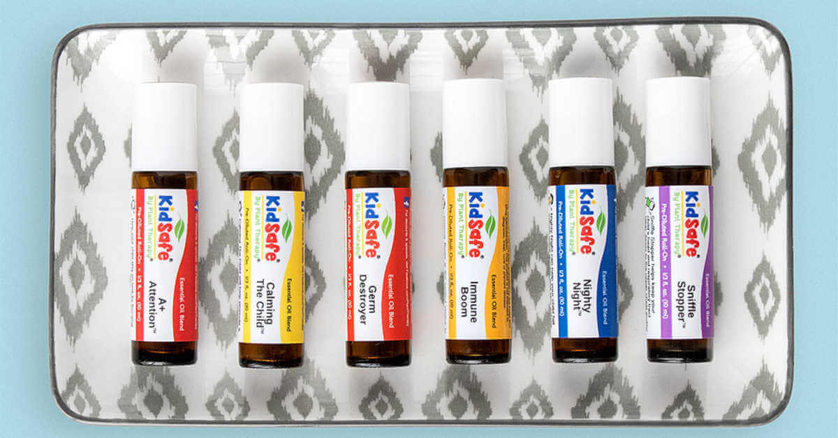 Plant Therapy kidsafe essential oil pre-diluted roll ons
