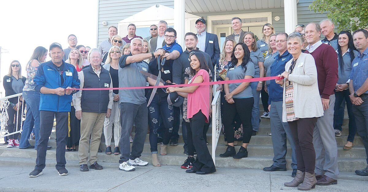 Twin Falls Optimist Youth House Ribbon Cutting plant therapy