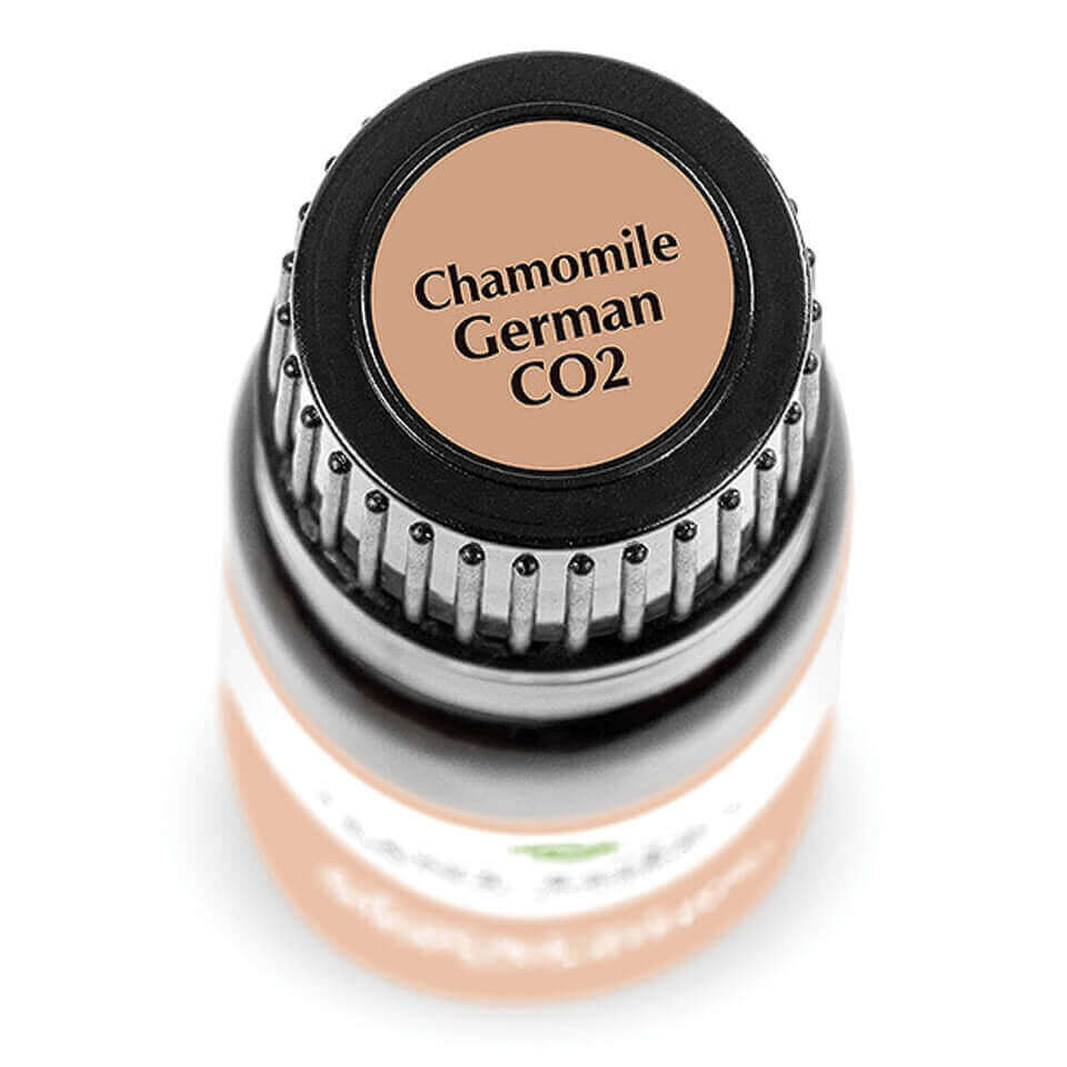 chamomile german co2 bottle top sticker