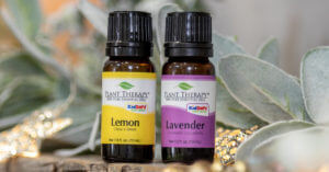 plant therapy lavender and lemon essential oils
