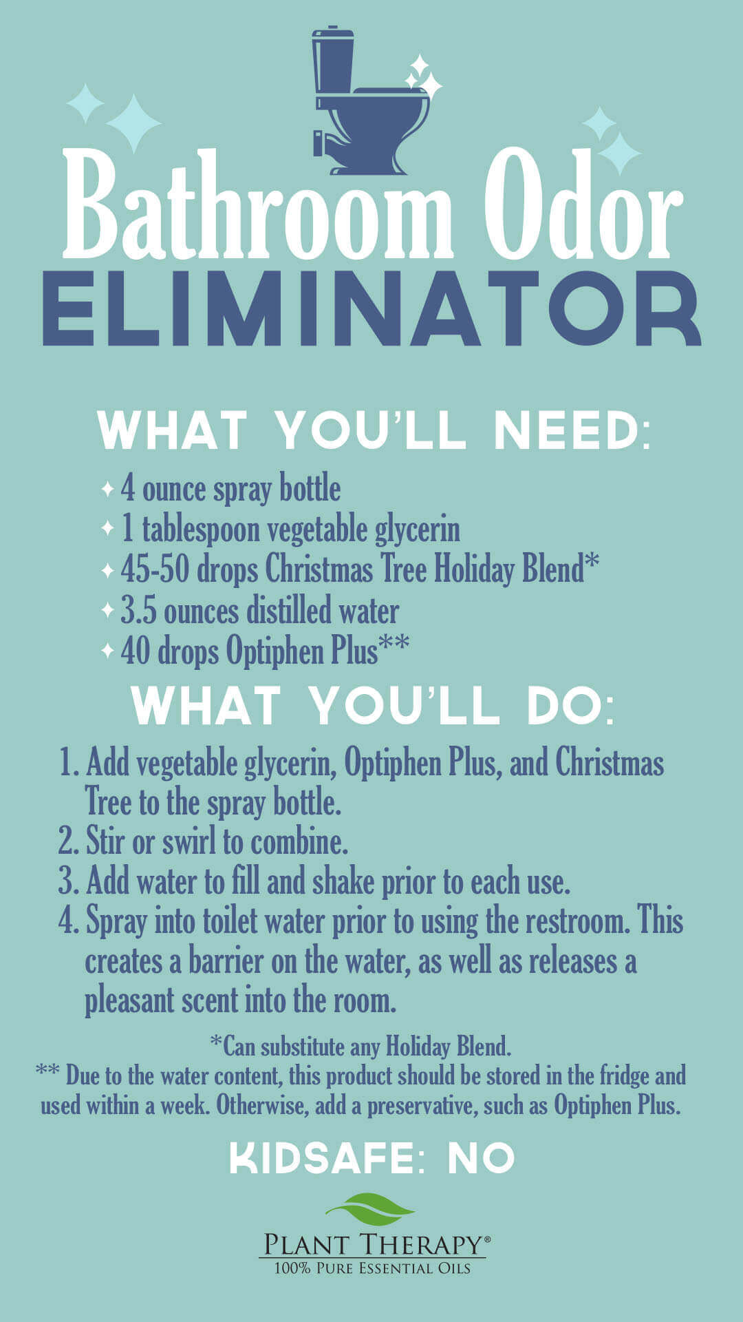 bathroom odor eliminator DIY