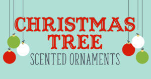 Plant Therapy Christmas Tree Scented ornaments