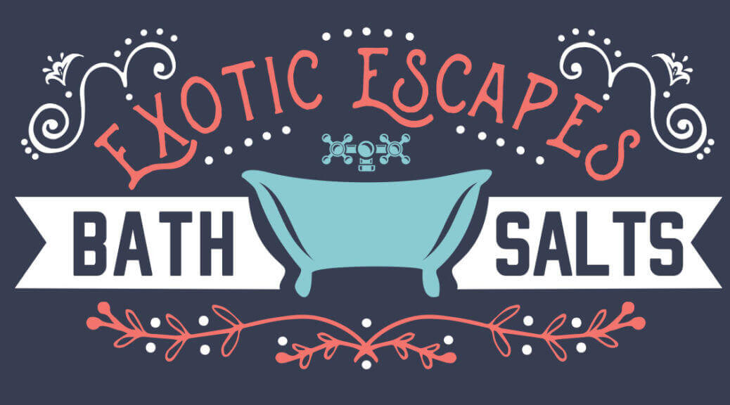 Exotic Escape Bath Salts DIY