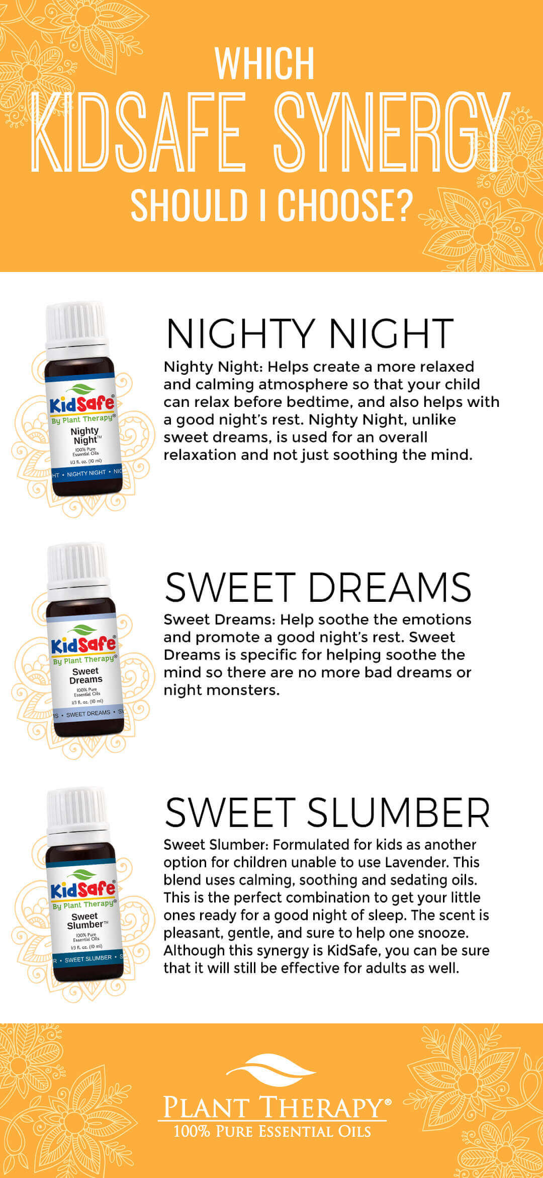 Which KidSafe Synergy Should I Choose for sleep
