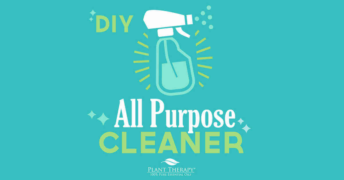 DIY all purpose cleaner essential oil DIYs