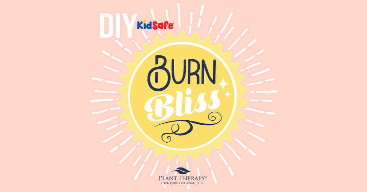 DIY burn bliss plant therapy essential oil DIYs