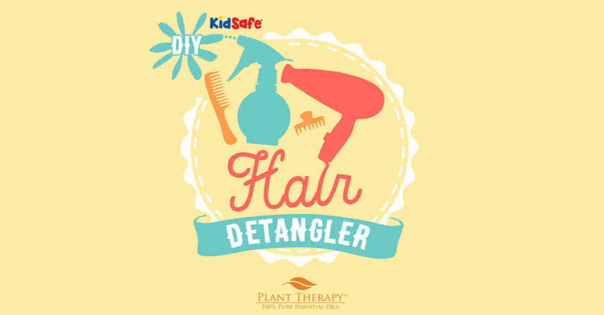 DIY Hair Detangler essential oil DIYs