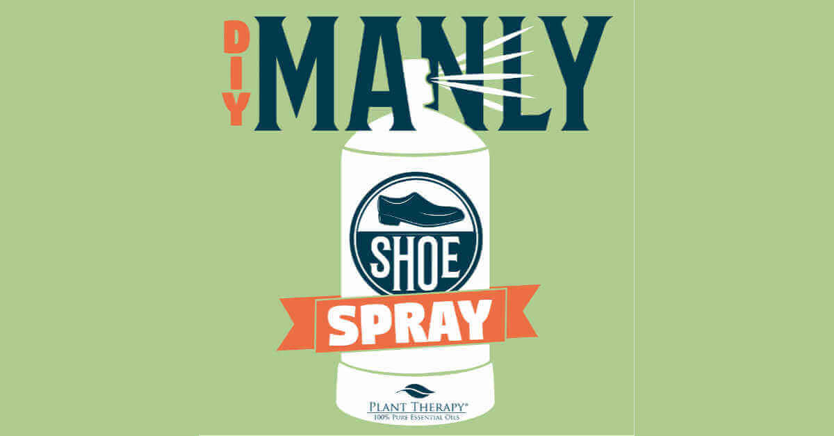 DIY manly shoe spray