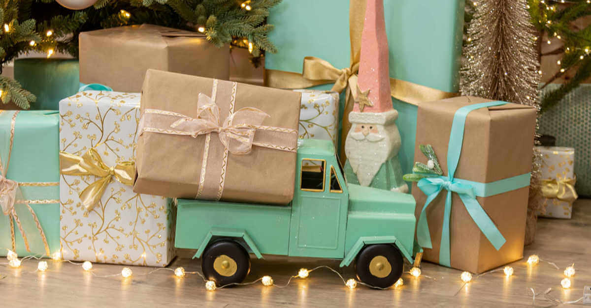 Plant Therapy mystery gift holiday truck