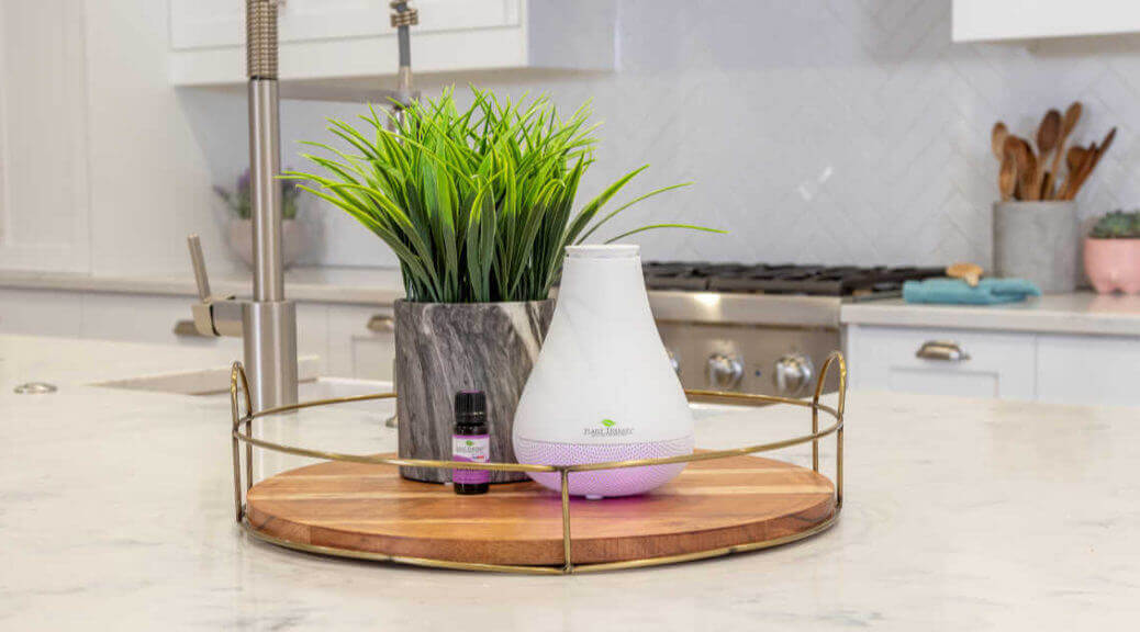 Plant Therapy NovaFuse diffuser on a table