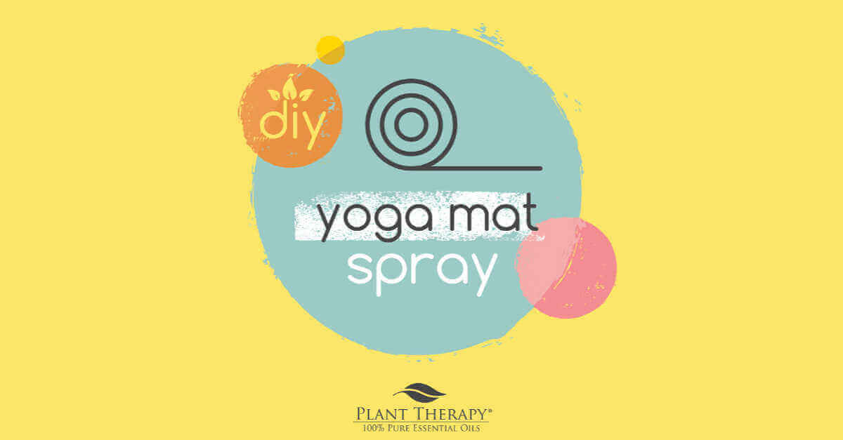 DIY yoga mat spray essential oil DIYs