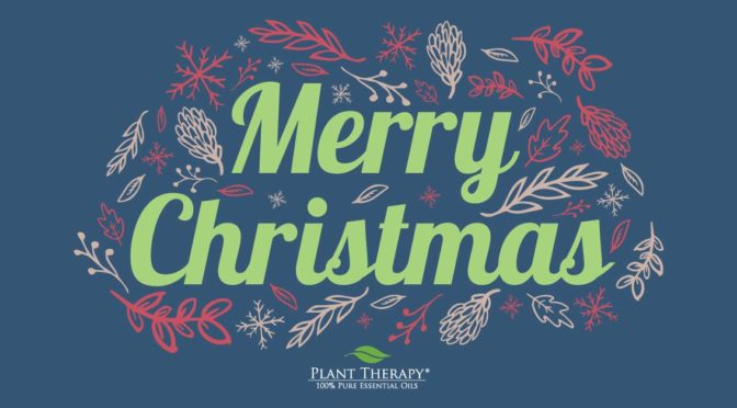 Merry Christmas plant therapy