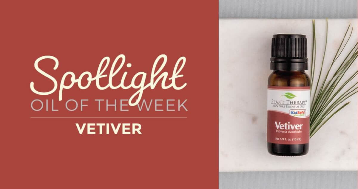Vetiver essential oil: Essential Oil Spotlight of the Week