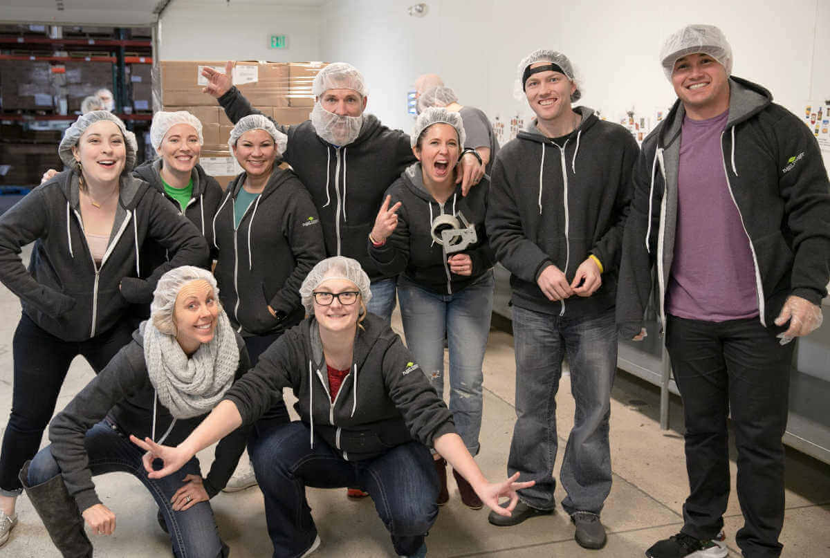 boise office food bank charity work