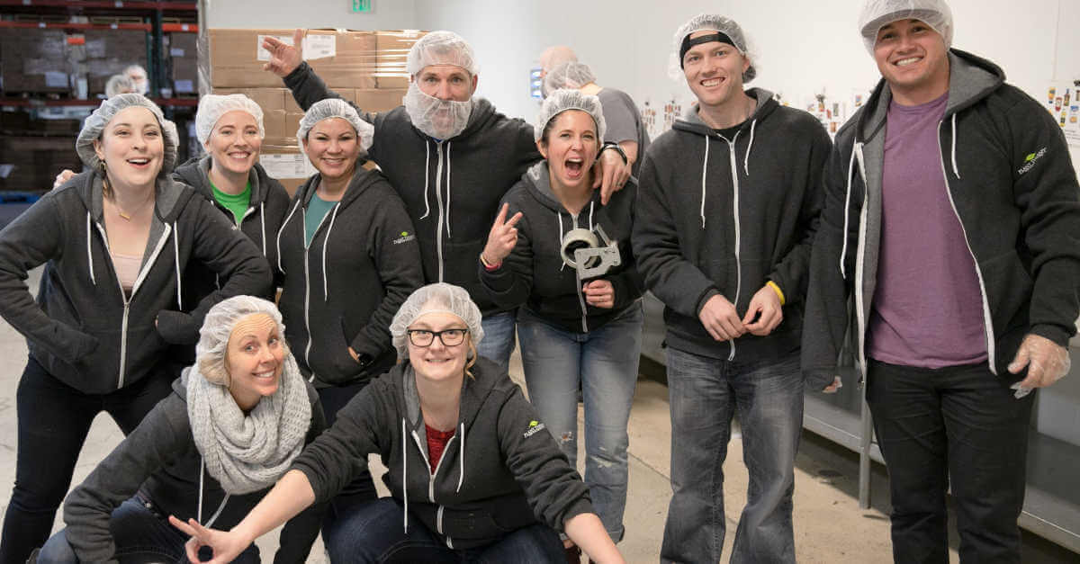 Idaho Food Bank Volunteering