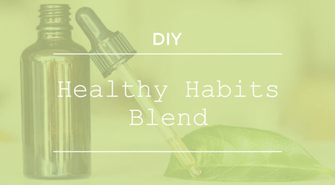 Healthy Habits Inhaler Blend DIY