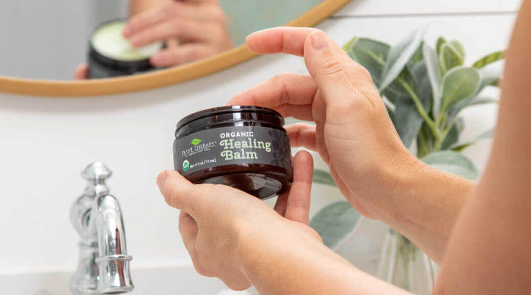 plant therapy organic healing balm all-natural body care