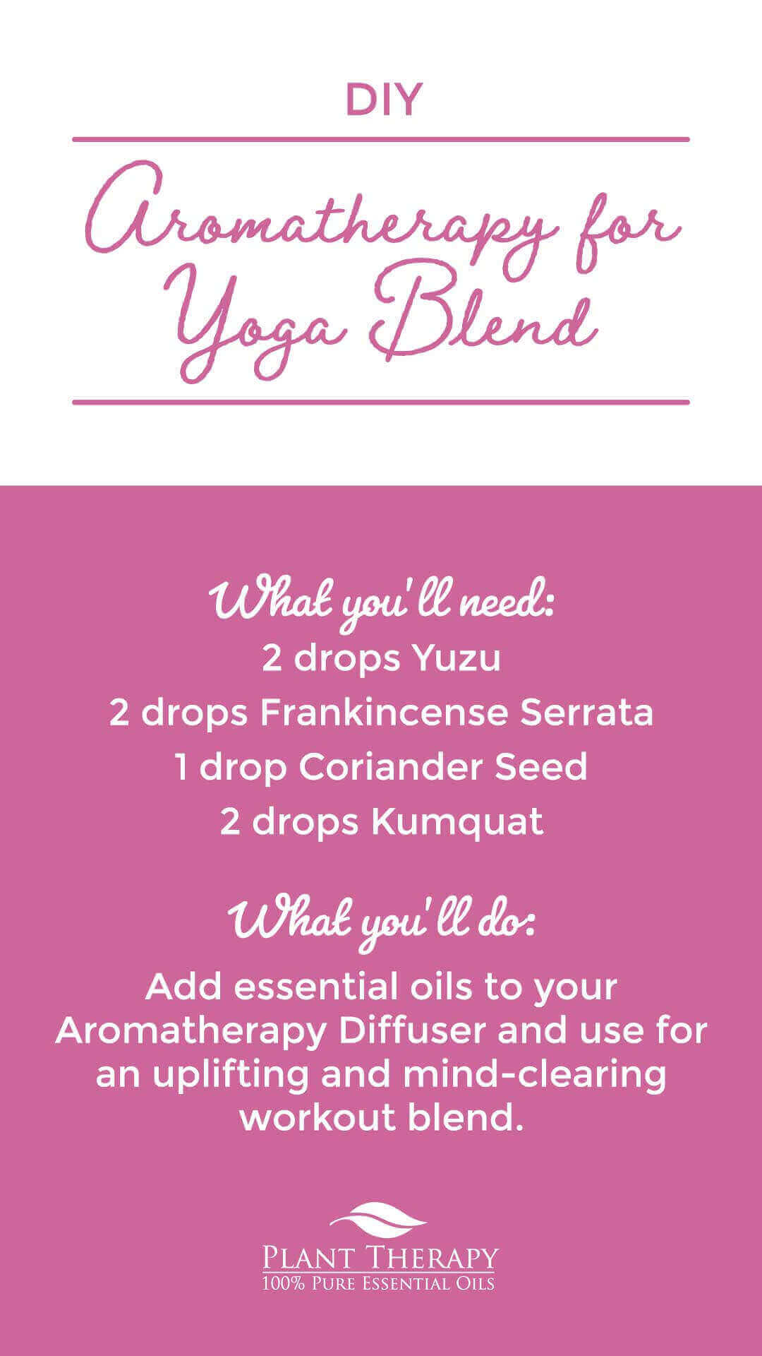 Plant therapy aromatheapy for yoga compressed