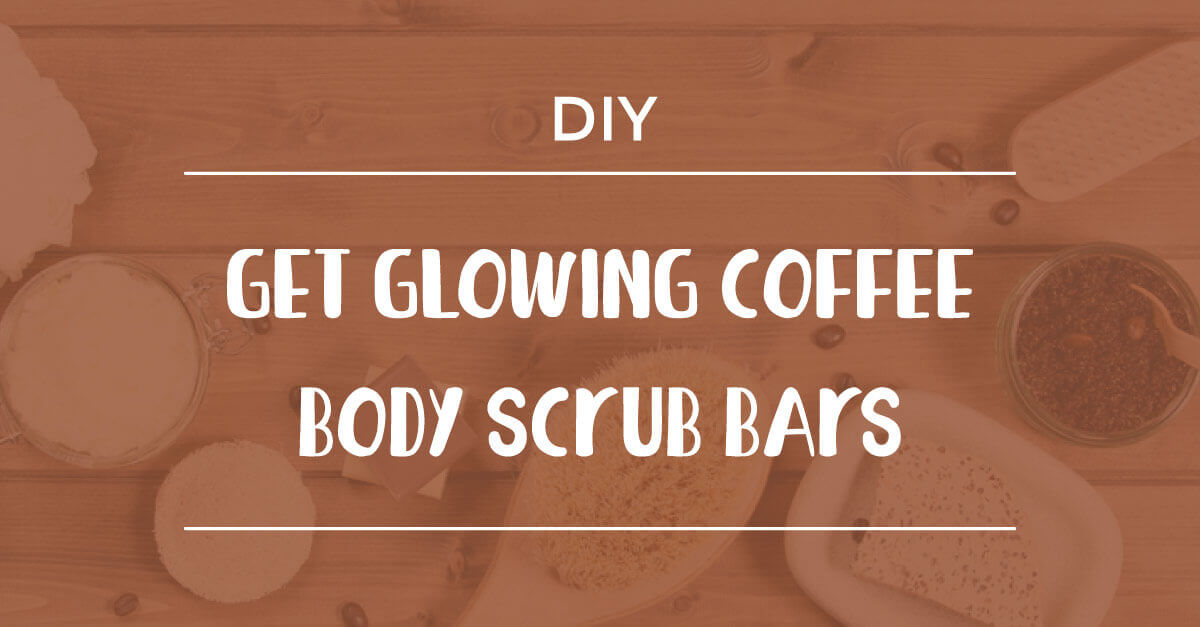 Get Glowing Coffee Body Scrub Bars