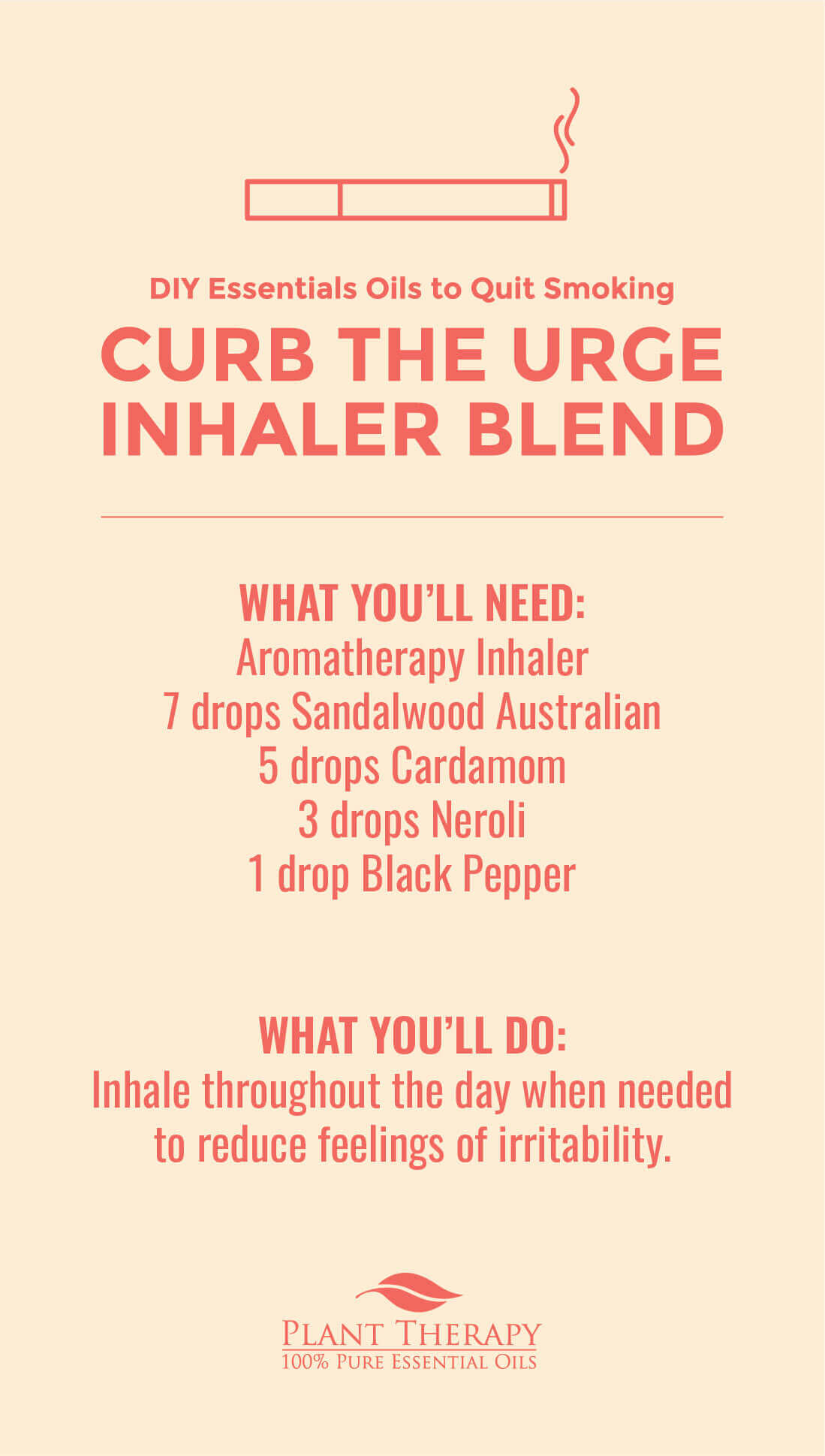 curb the urge inhaler blend diy essential oils to quit smoking