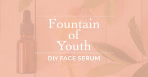 fountain of youth face serum essential oils