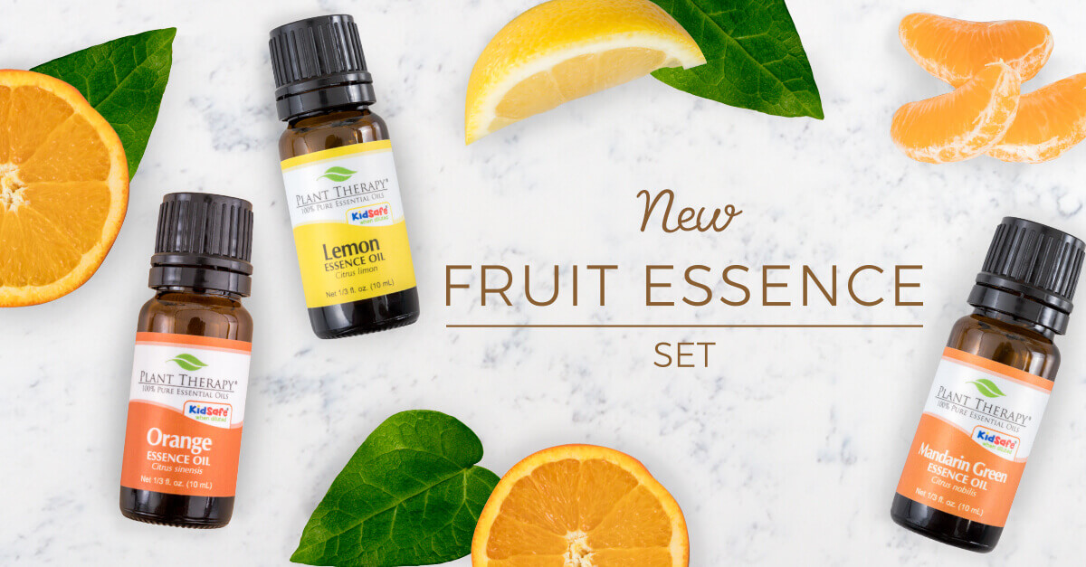 Plant Therapy Orange Lemon and Mandarin fruit essence set