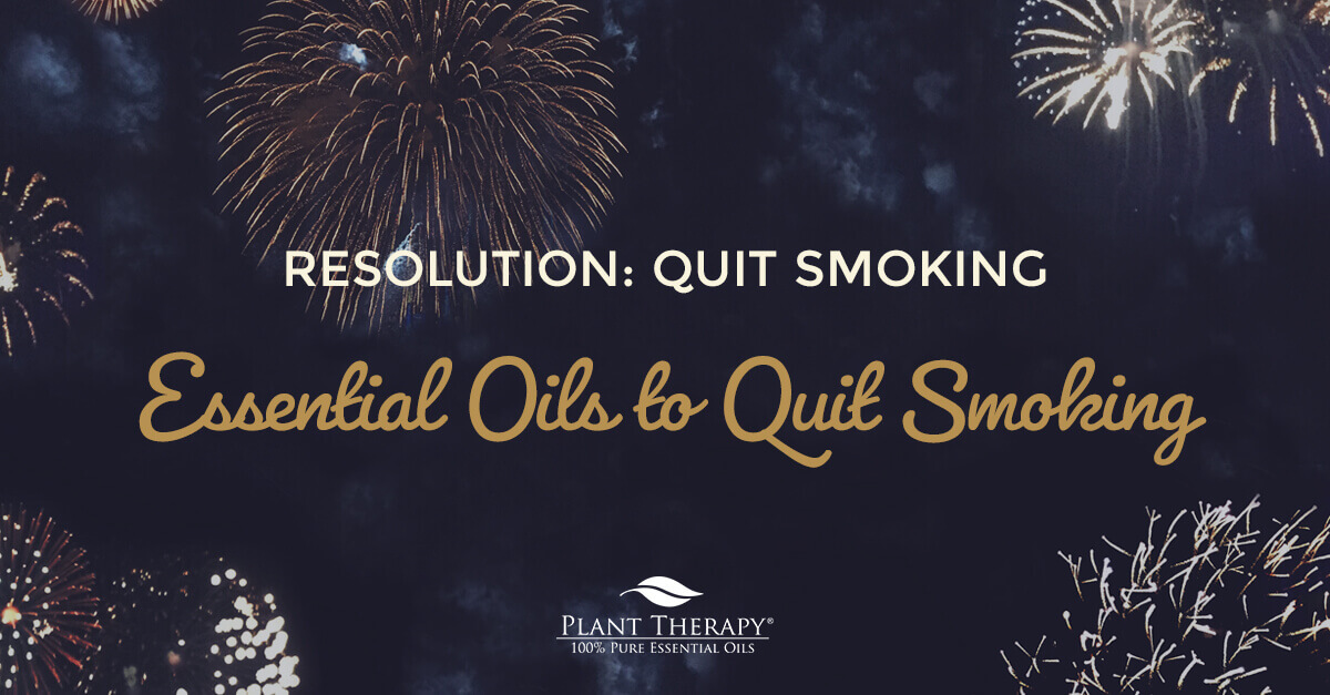 essential oils to quite smoking resolution