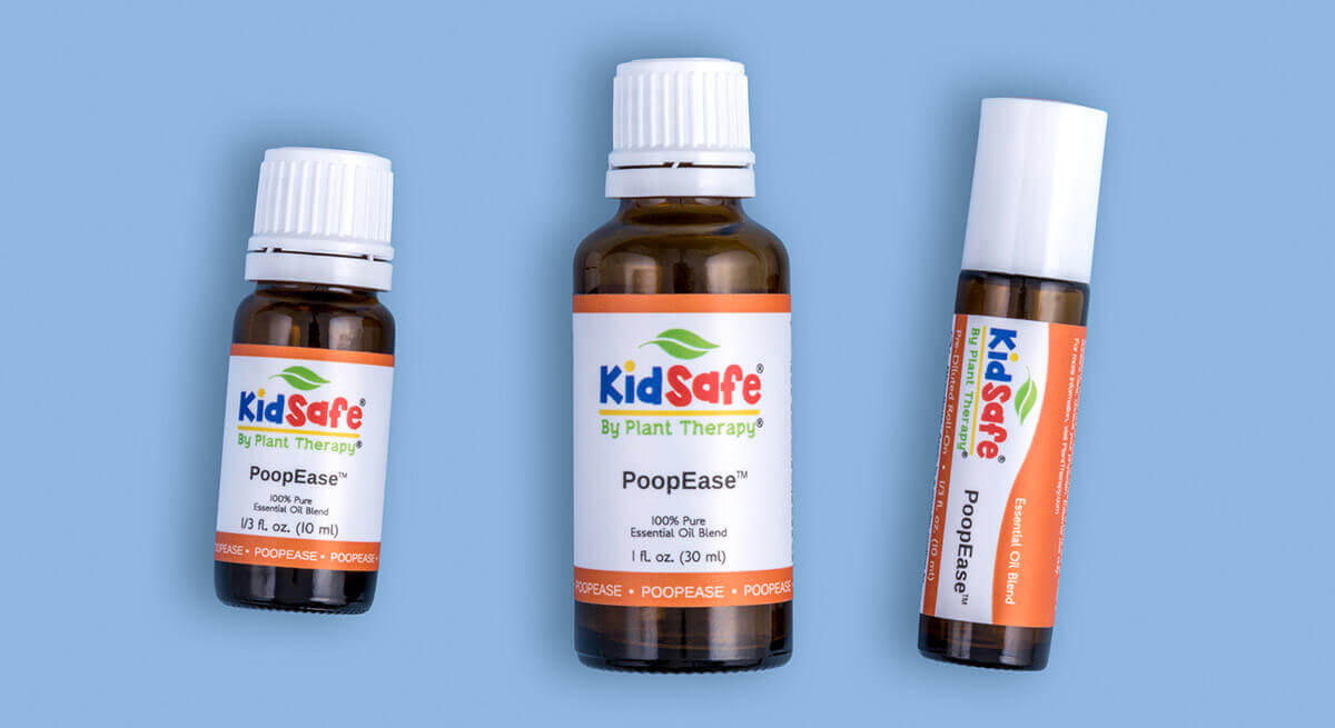 PoopEase: Plant Therapy natural essential oil blend to help easy bowel discomfort