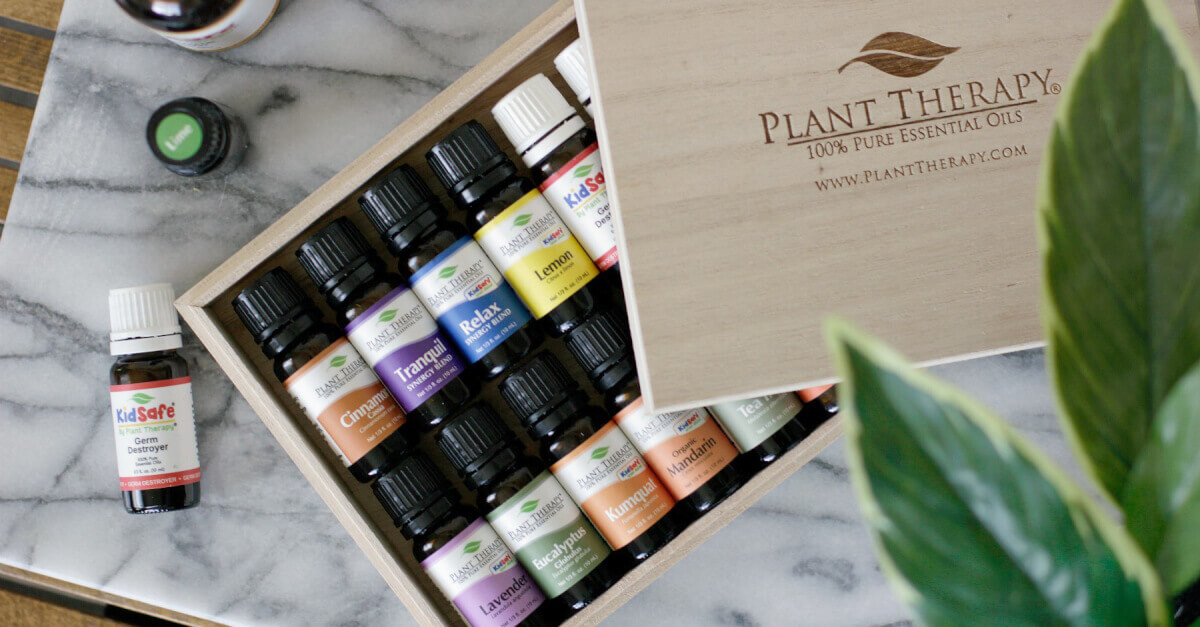 plant therapy essential oils for organization