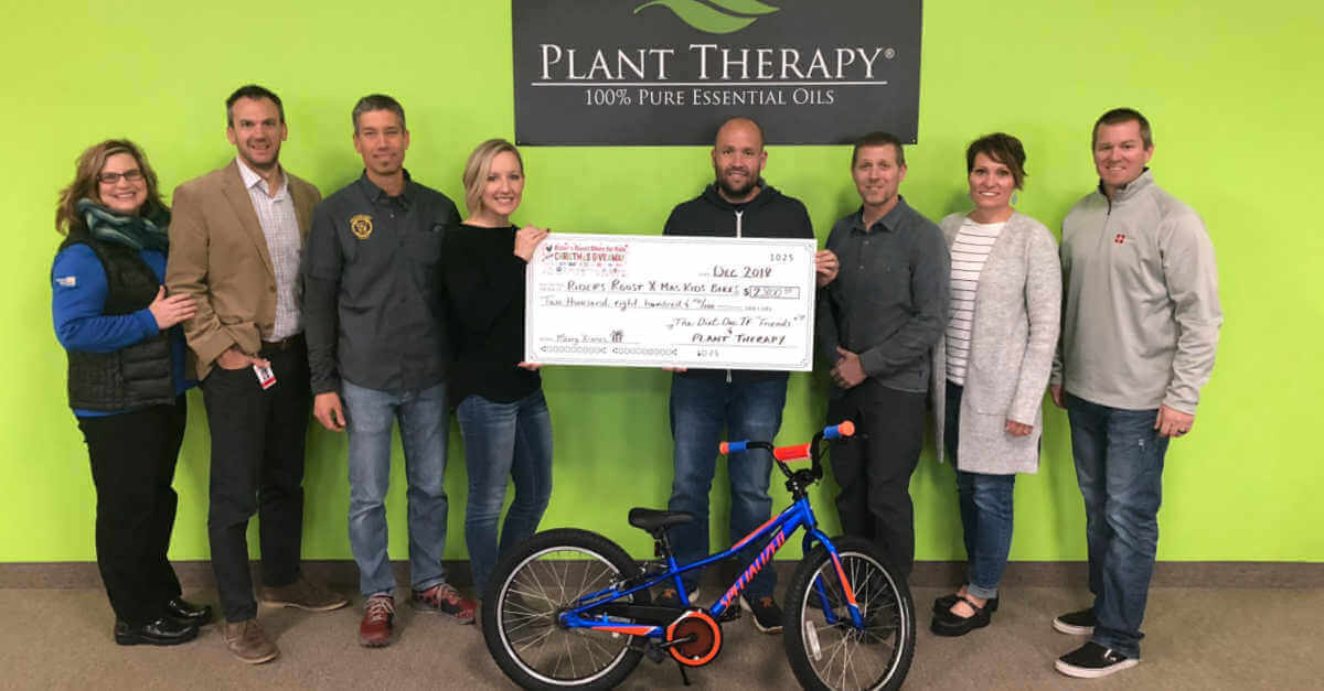 Plant Therapy's Planting Kindness plant therapy company values