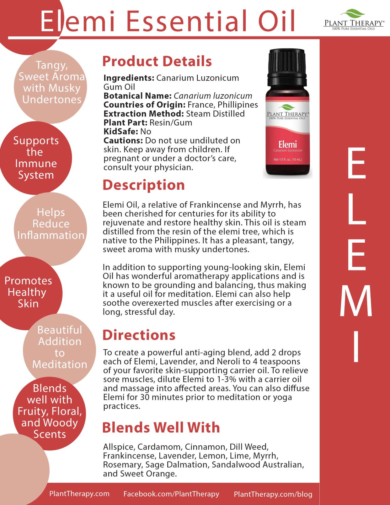 Elemi Essential Oil Plant Therapy