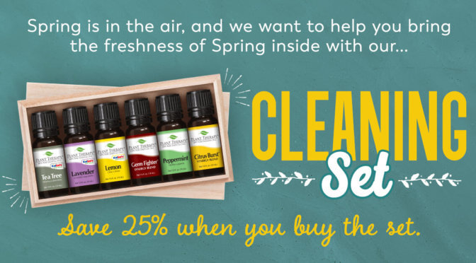 Plant Therapy's cleaning set saves 25%