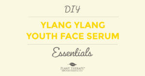 Ylang Ylang Youth Face Serum recipe from Plant Therapy