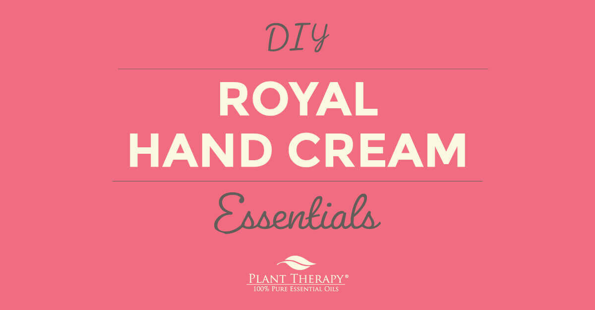 Royal Hand Cream DIY