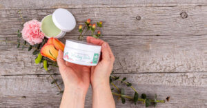 The original organic healing balm plant therapy