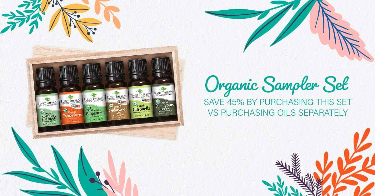Plant Therapy's Organic Sampler Set