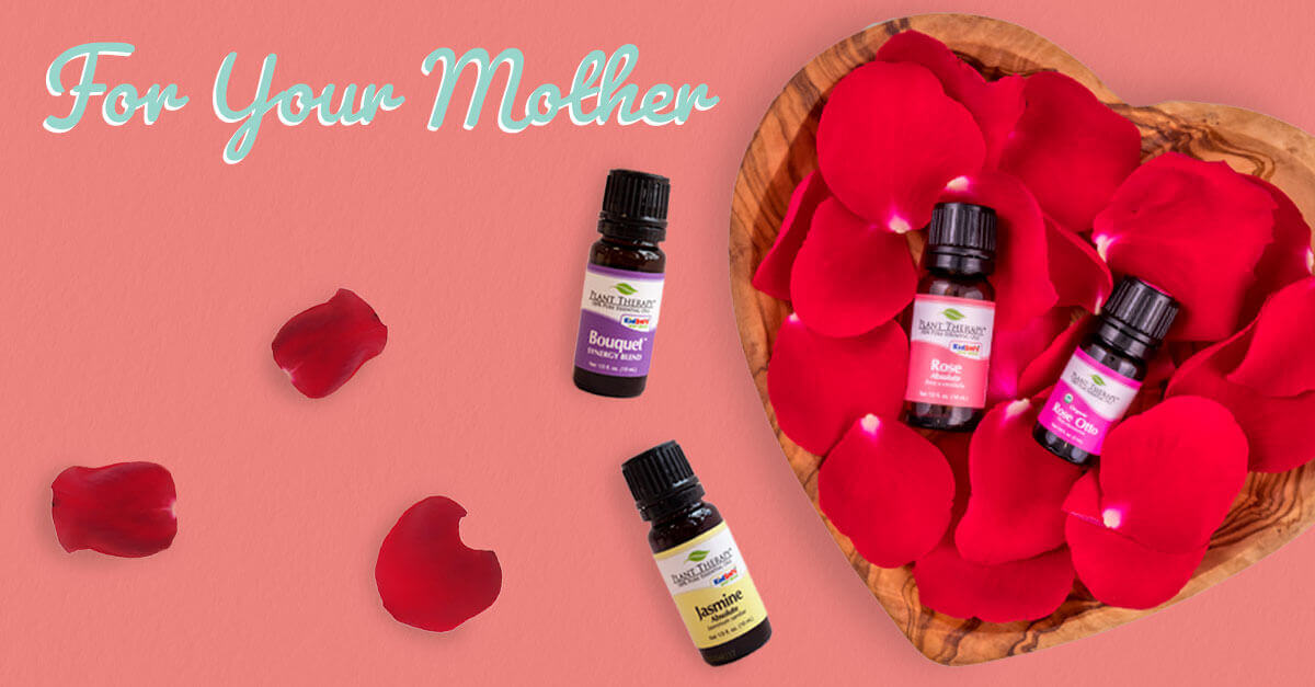 For your mother rose absolute, rose otto, jasmine absolute, bouquet blend