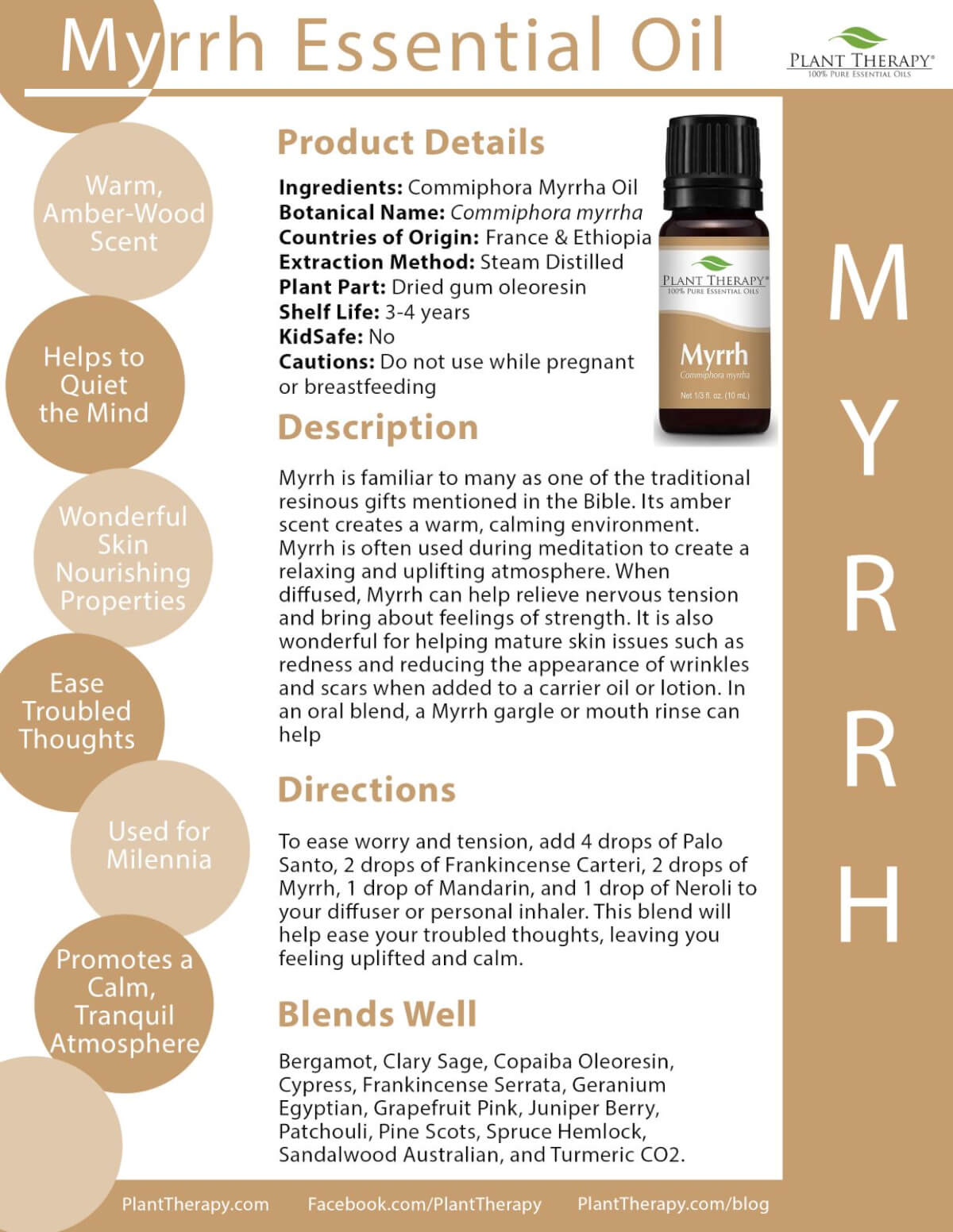 Myrrh Essential Oil from Plant Therapy