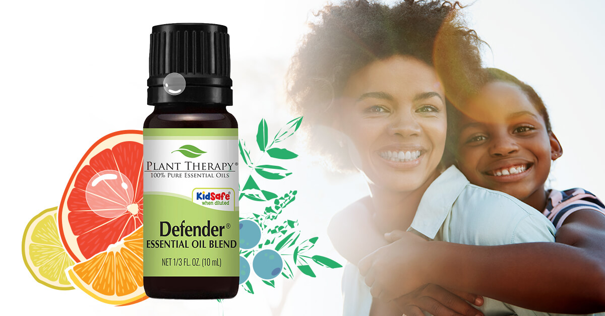 defender essential oil blend