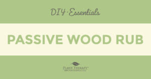 Essentials Video: Allspice Passive Wood Rub
