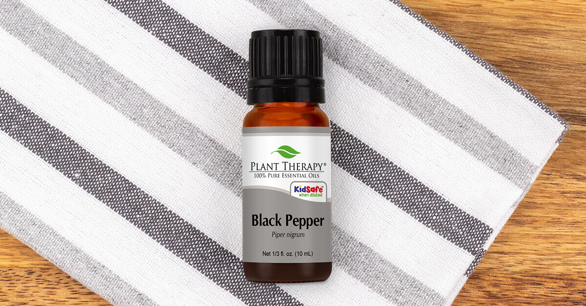 Black Pepper Essential Oil by Plant Therapy
