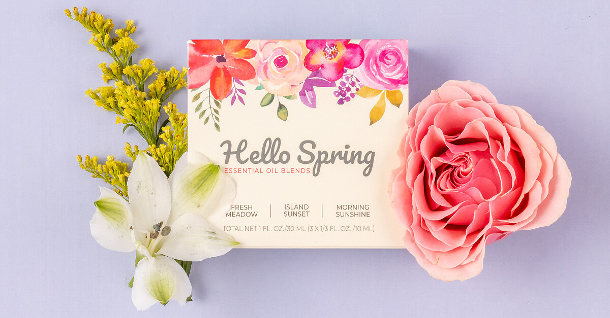 Hello Spring Essential Oil Set