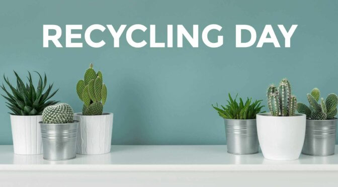 Ways to start recycling today