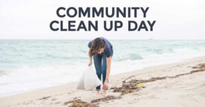 Earth Week Day 5: Community Cleanup Day