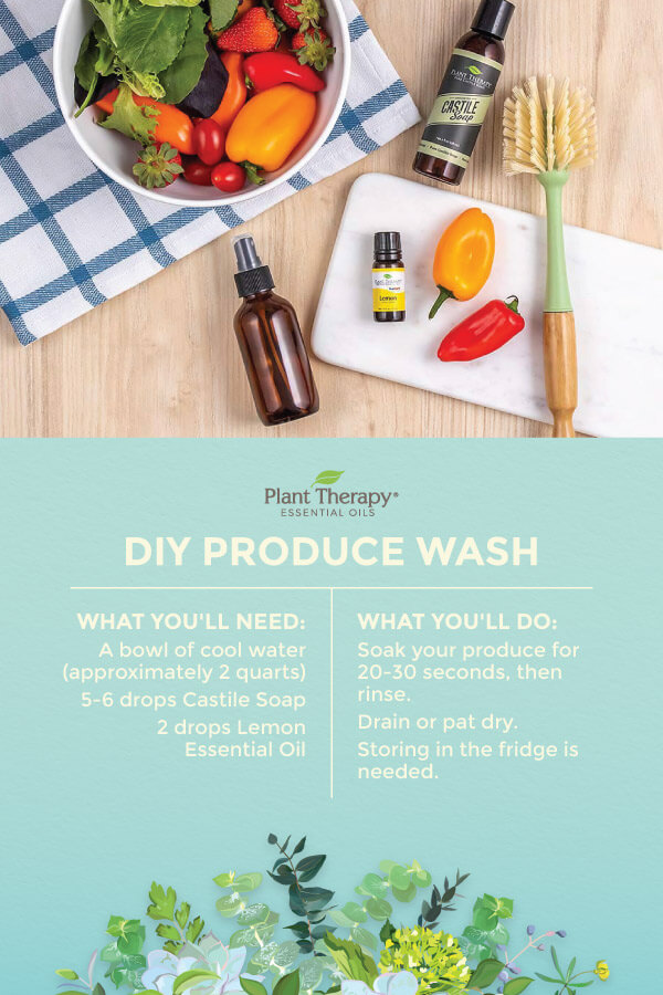 Clean Your Fruits & Veggies with This DIY Produce Wash